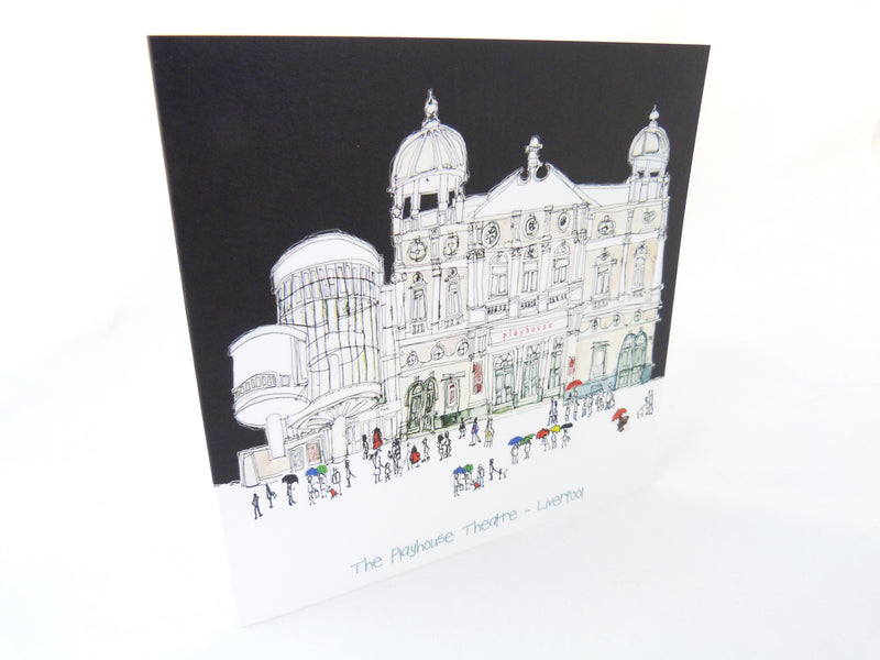 Liverpool Playhouse Theatre - Greetings Card