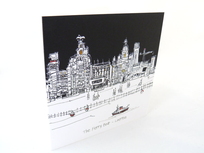 The Ferry Boat - Greetings Card