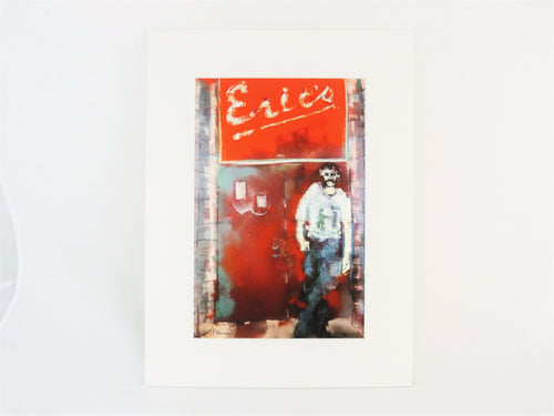 Eric's Club, Liverpool - Mounted Print