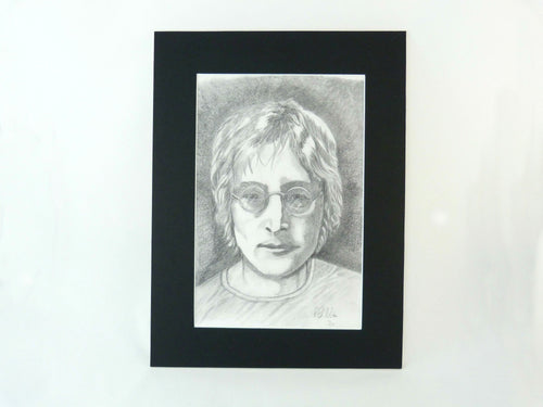 John Lennon Pencil Drawing Print - Limited Edition