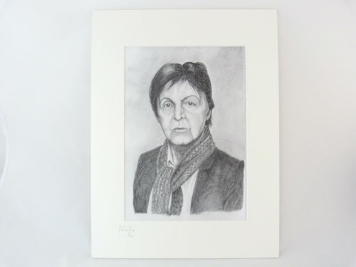 Paul McCartney Pencil Drawing Print - Limited Edition