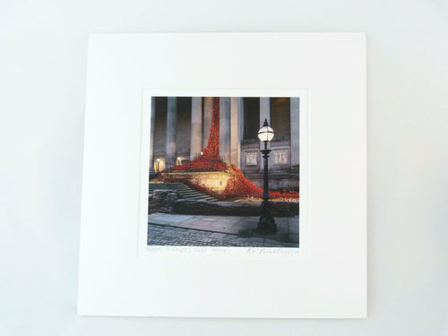 Poppies St Georges Hall - Photographic Print (Limited Edition)
