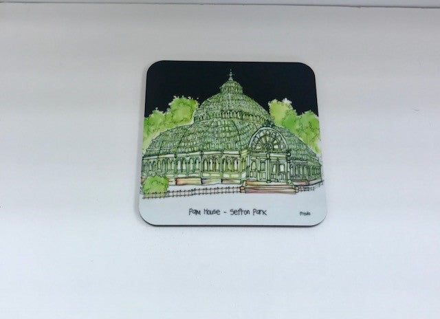 Palm House Coaster - Freida Mckitrick