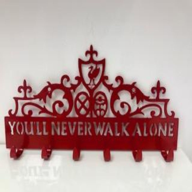 Shankly Gates - Key/Coat Holder - Metal Art
