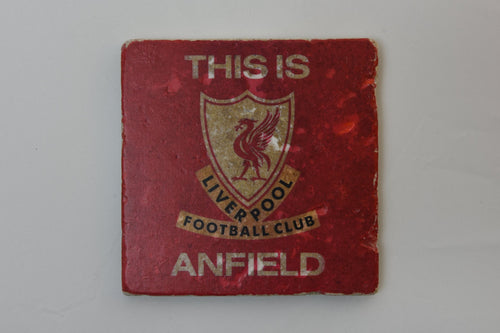 this is anfield lfc stone coaster