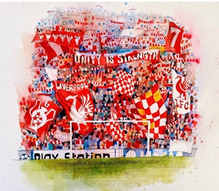 The Spion Kop Limited Edition Framed Print