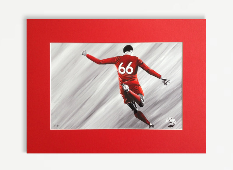 Trent Alexander Arnold Mounted Print