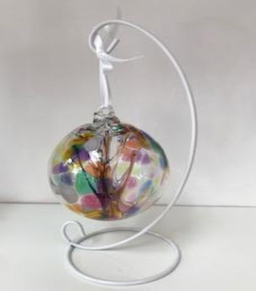 Happiness Tree of Life Glass Bauble