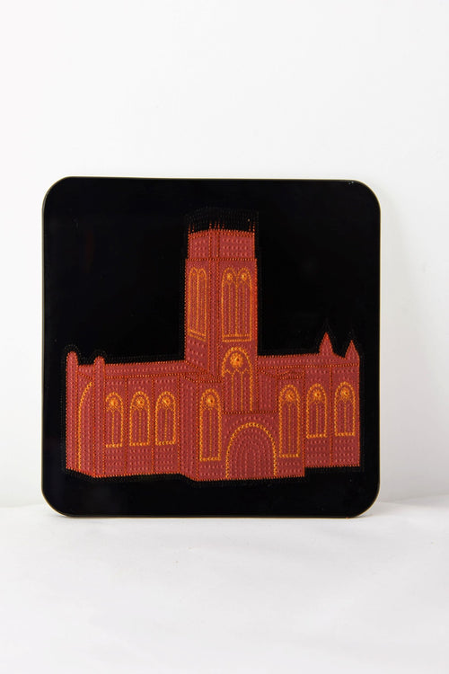 Liverpool Anglican Cathedral Glass Coaster