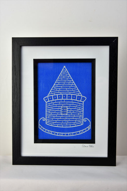 Prince Rupert's Tower by Dot Artist Clare Ellis