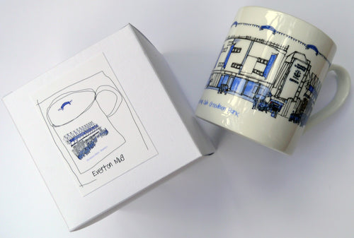 Everton China Mug by Freida McKitrick