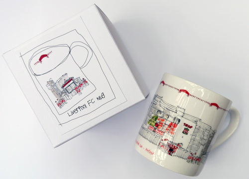 Anfield China Mug by Freida McKitrick