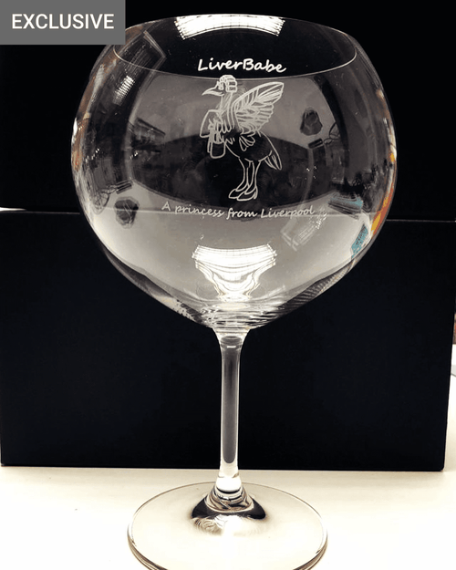 LiverBabe Balloon Gin Glass
