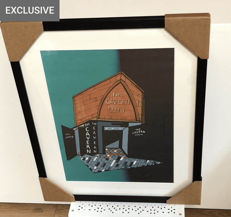 The Cavern Club, Liverpool - Framed Print