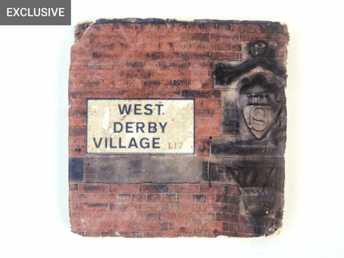 West Derby Village Sign - Stone Coaster