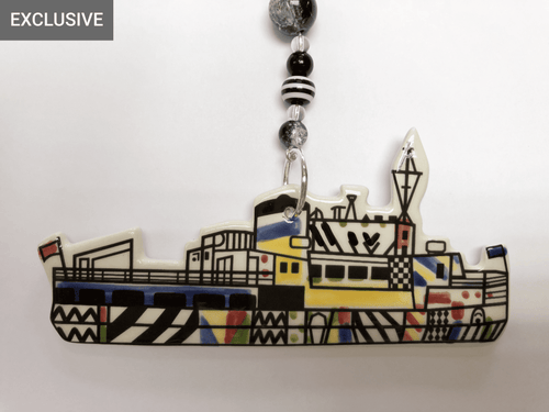 Mersey Dazzle Ferry, Liverpool - Ceramic Decoration