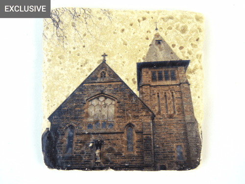 St Pauls Church - Stone Coaster