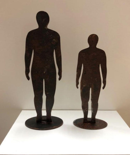 Anthony Gormley's Iron Men - Metal Art -