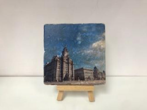 The Three Graces - Stone Coaster