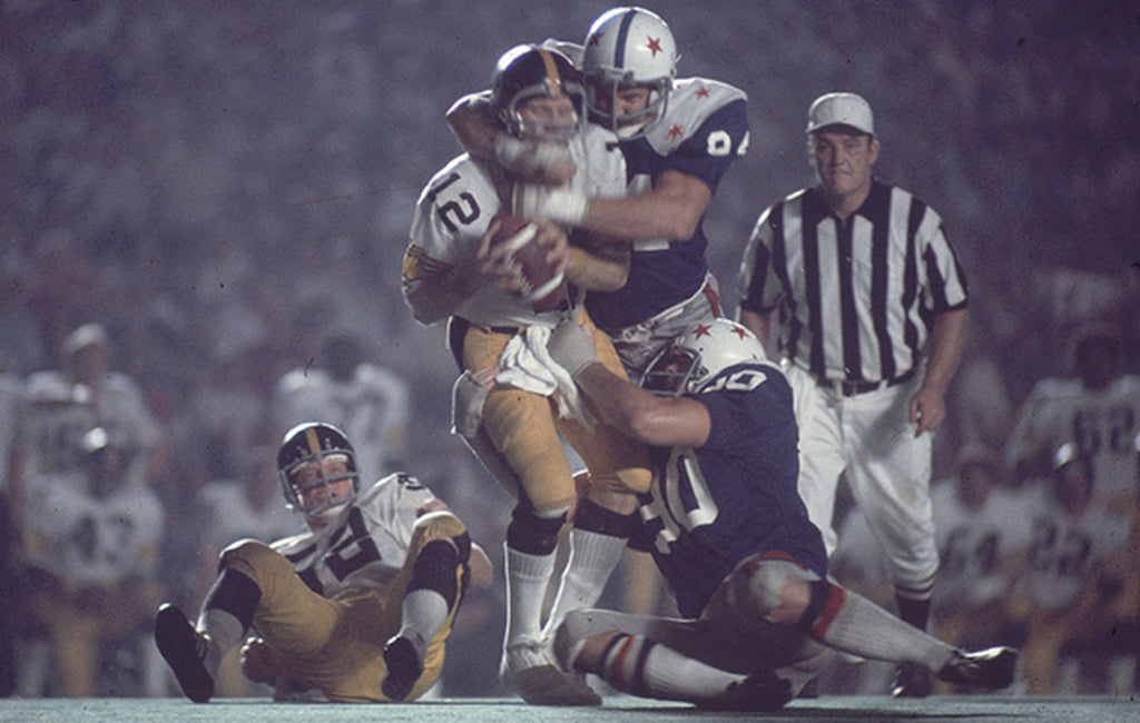 When college all-stars faced off against reigning Super Bowl champs