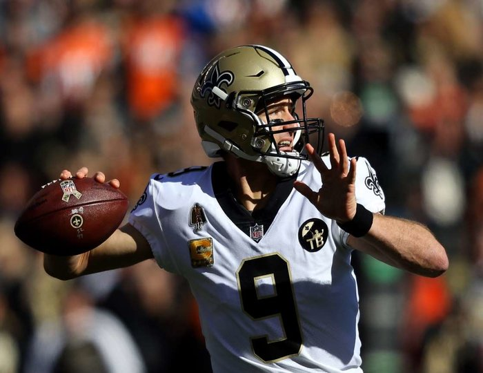 NFL MVP Tracker: Old man Brees is starting to run away with his first MVP