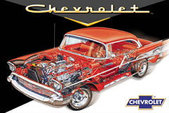 Chevy Cutaway 24x36 Premium Poster