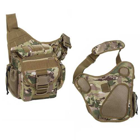 Men Waterproof Camera Bag Multi-functional Tactical Package