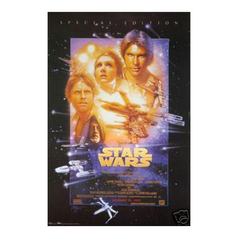 Star Wars New Hope 24x36 Premium Poster