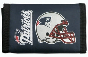 New England Patriots Wallet Nylon Trifold
