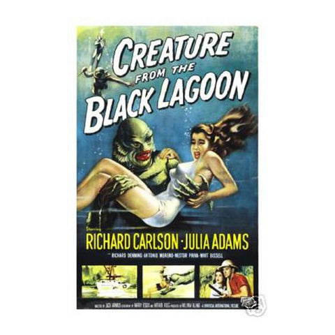 Creature from the Black Lagoon 12x18 Premium Poster