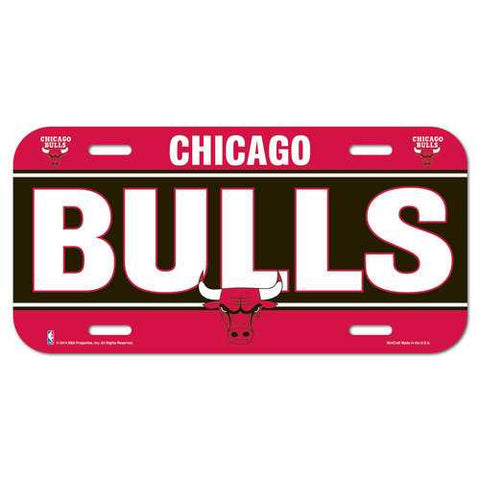 Chicago Bulls License Plate