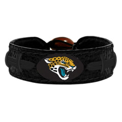 Jacksonville Jaguars Black Out Football Bracelet