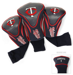 Minnesota Twins Golf Club 3 Piece Contour Headcover Set