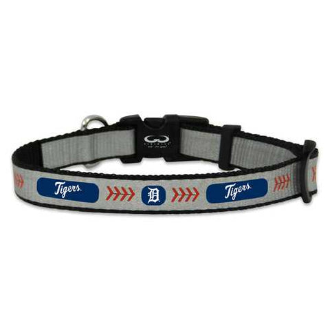 Detroit Tigers Reflective Small Baseball Collar