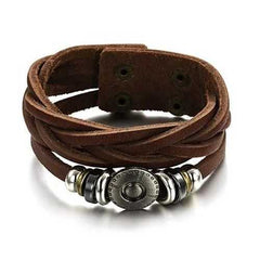 Bingo Bracelet In Genuine Leather