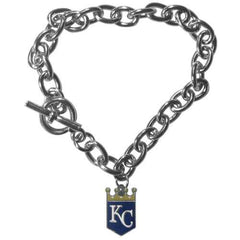 Kansas City Royals Bracelet Chain Link Style