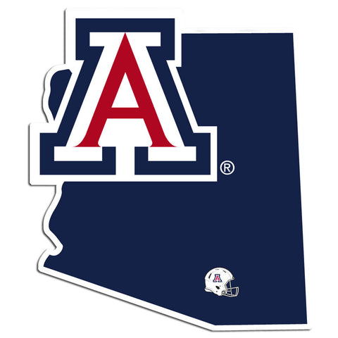 Arizona Wildcats Decal Home State Pride Style