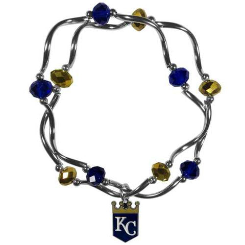 Kansas City Royals Bracelet Colored Bead