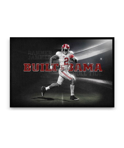 Alabama Crimson Tide Built Gallery Wrap Canvas