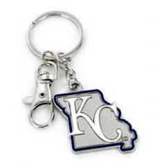 Kansas City Royals Keychain State Design
