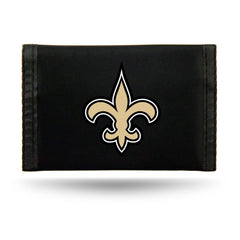 New Orleans Saints Wallet Nylon Trifold
