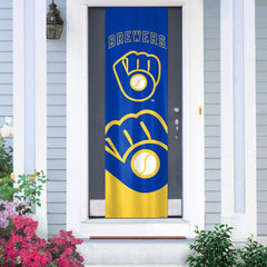 Milwaukee Brewers Premium Door Banner