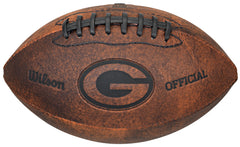 Green Bay Packers Vintage Throwback Football