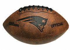 New England Patriots Vintage Throwback Football