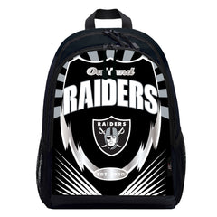 Las Vegas Raiders Backpack Lightning Style