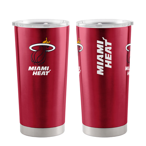 Miami Heat Travel Tumbler 20 oz Ultra Red