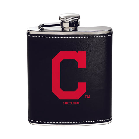 Cleveland Indians Stainless Steel Flask