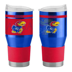 Kansas Jayhawks Travel Tumbler 24 oz Ultra Twist
