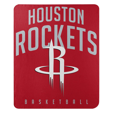 Houston Rockets Lay Up 50x60 Fleece Throw Blanket