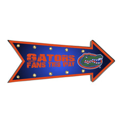 Florida Gators Sign Running Light Marquee